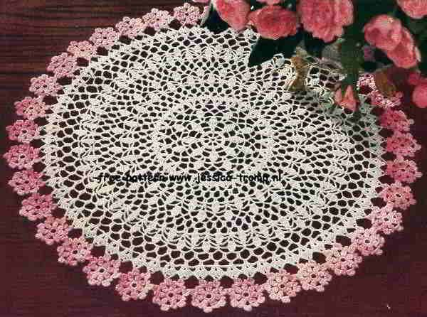 ... doily patterns crochet with flower pattern free crochet patterns amp