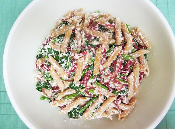 ricotta and asparagus recipe yummly penne with ricotta and asparagus ...