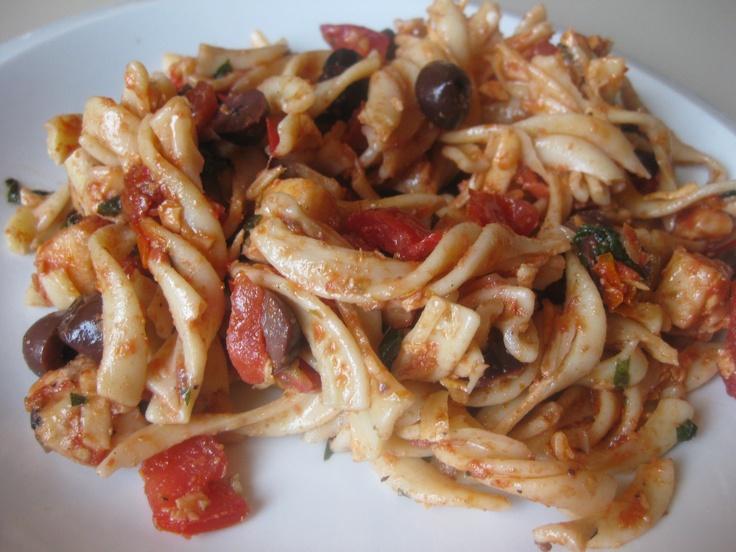 Summer of Salads: Sun-Dried Tomato Pasta Salad by Ina Garten