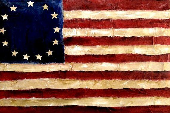 american revolution flags