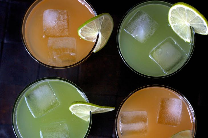 Melon Agua Fresca [Melon Coolers] Recipe Beverages with cantaloupe ...