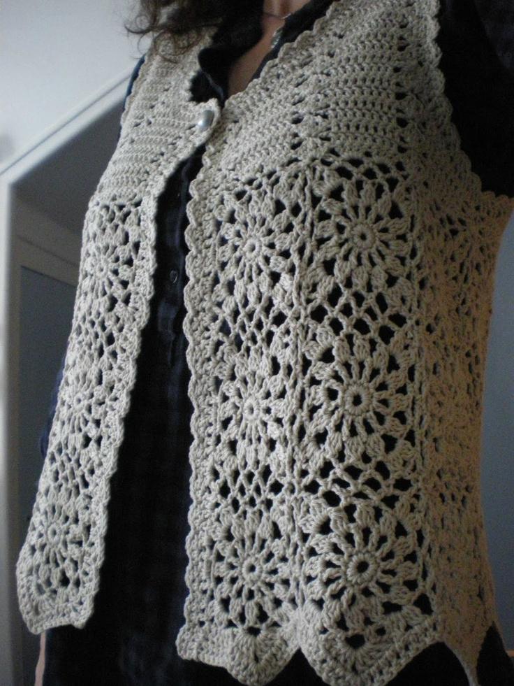 Crochet Vest : crochet vest crochet Pinterest
