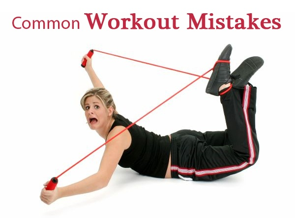 10 Most Common Workout Mistakes!