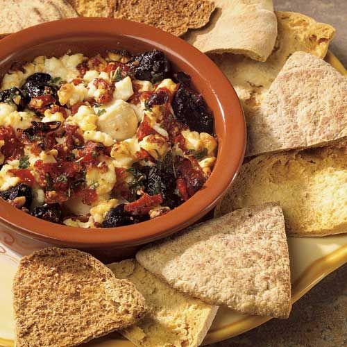 Greek Feta & Olive Dip | food/recipes | Pinterest