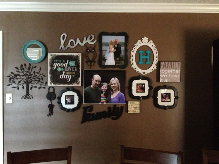 Dining Room Wall Teal Makes It Pop Things For My Wall Pinterest