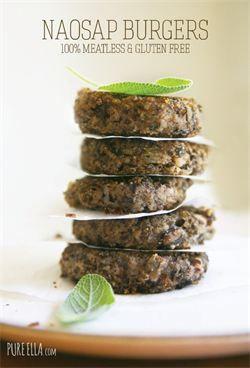 Organic Wild Rice Burgers | Food | Pinterest