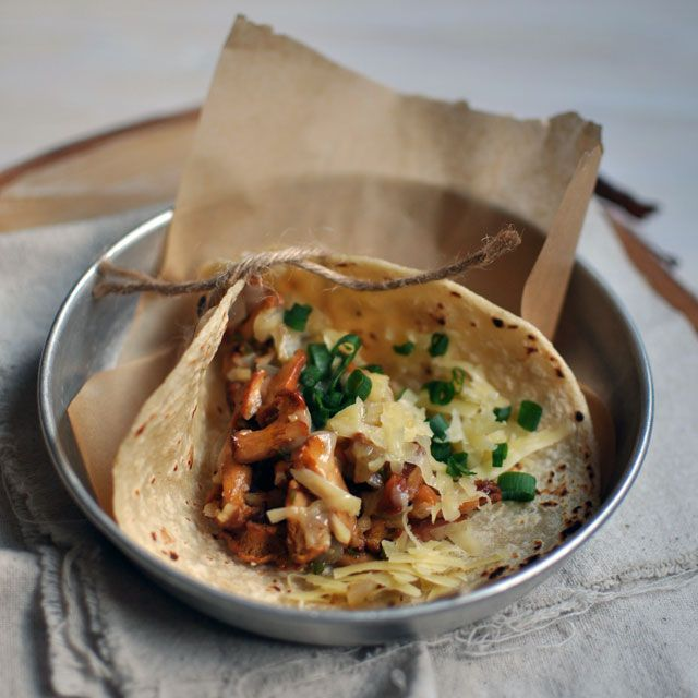 Chanterelle Tacos, City Bus | Turntable Kitchen