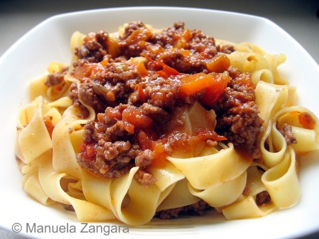 used to make the best ever Bolognese sauce. This is not the Bolognese ...