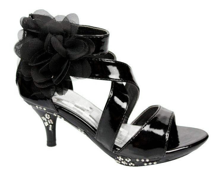 black high heels for kids