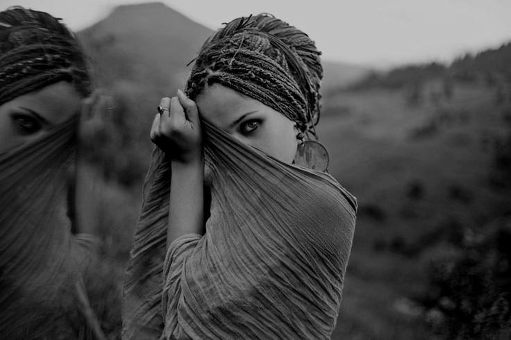 reflection | #bohemian #boho #hippie #gypsy via tumblr