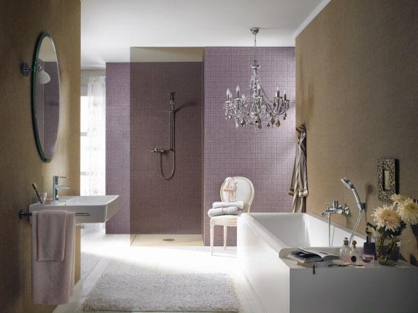 Lilac bathroom home decor diy pinterest for Lilac bathroom ideas
