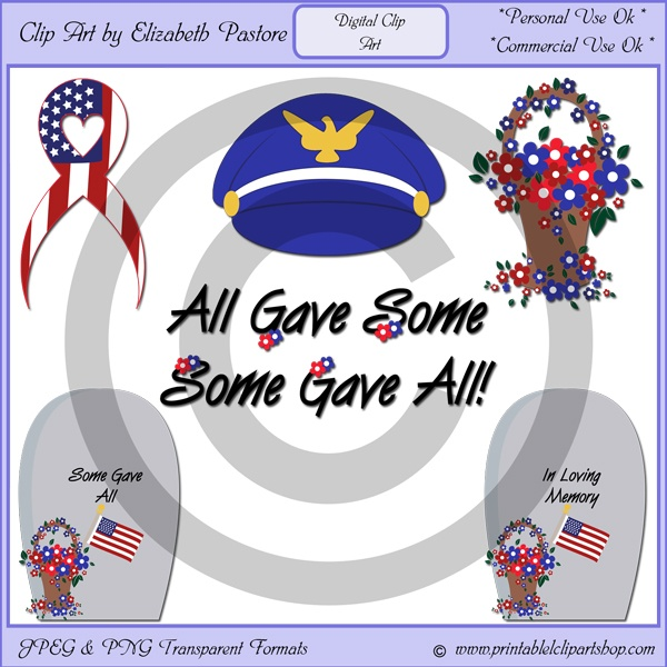 free clip art of memorial day
