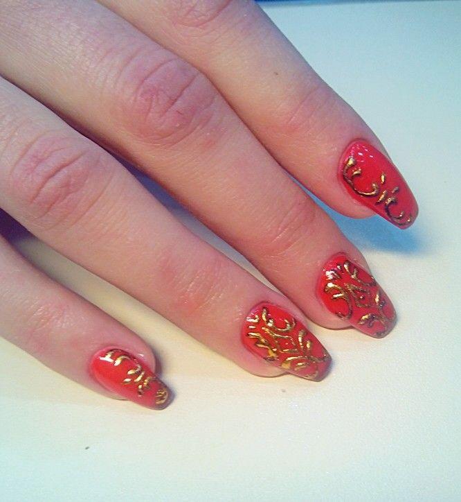 Шеллак дизайн ногтей лучшие работы 2017 на длинные ногти