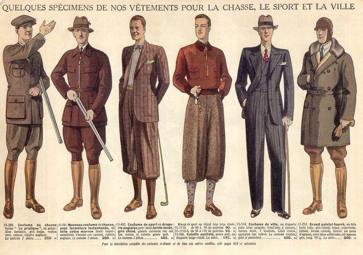 1930s fashion boys