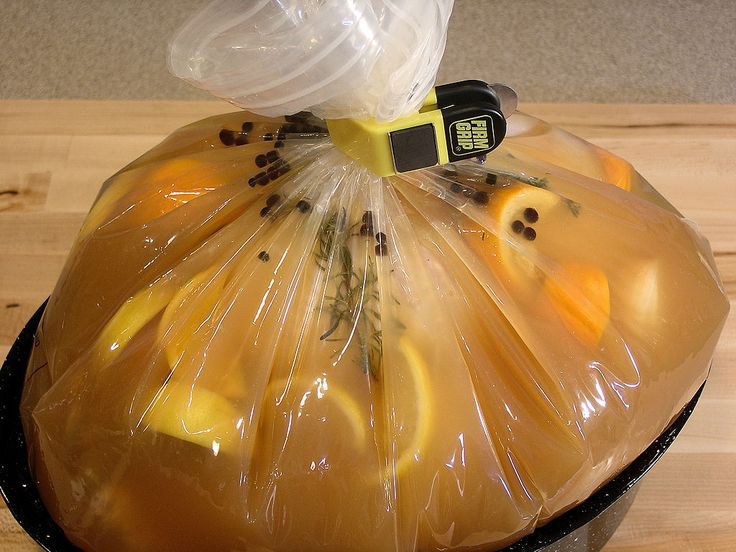 Apple Cider and Citrus Turkey Brine with Herbs
