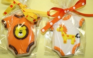 Animal Baby Shower Cookies by Signature Sweets by Kimberly, via Flickr