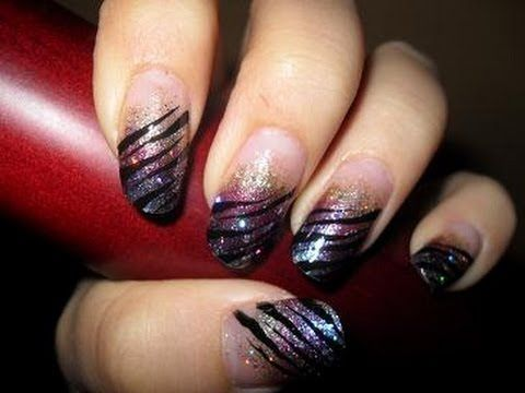 Wild New Years Nails | Nail designs | Pinterest