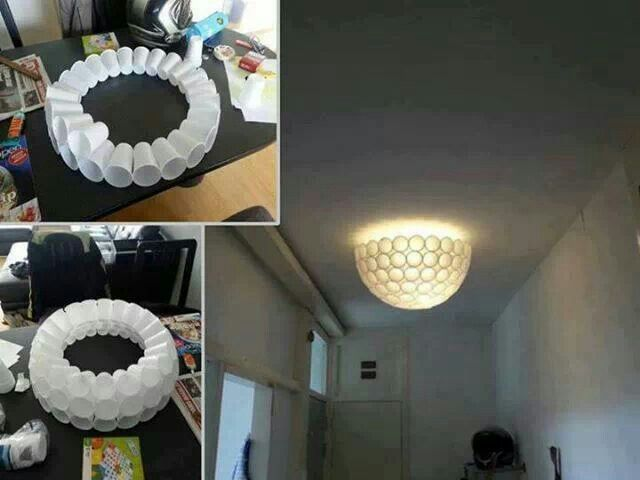 Paper cup light | 7. paper crafts | Pinterest