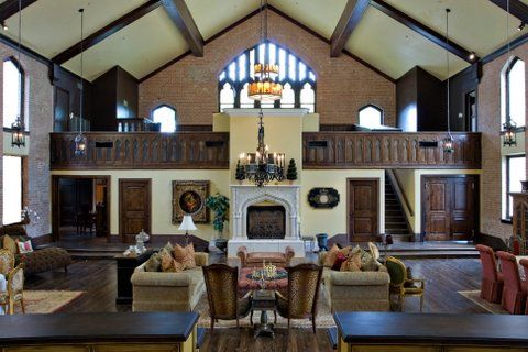 Old church to home conversion barn church conversions pinterest - Homes in old churches ...