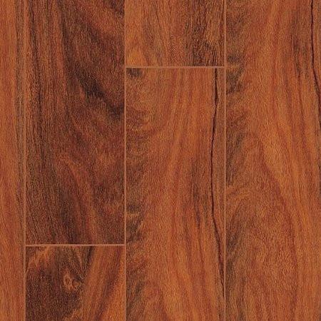 Brazilian teak for Glueless laminate flooring