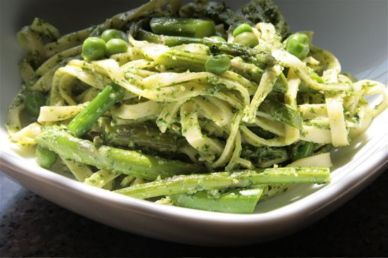 Spring Vegetable Pesto Pasta | Noodles, Strands, and Shells | Pintere ...