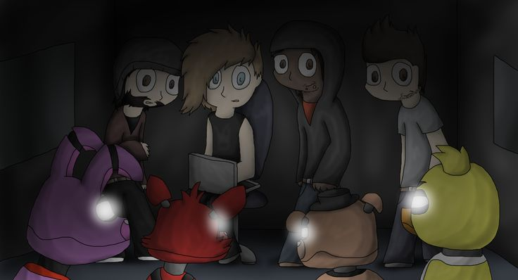 Nights at freddy s five nights at freddy s by hybrid kitty