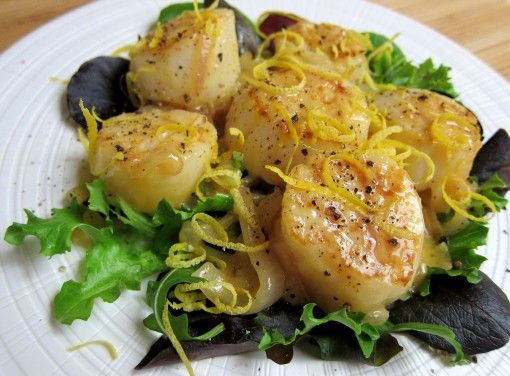 scallops with miso butter | Recipes to Try | Pinterest