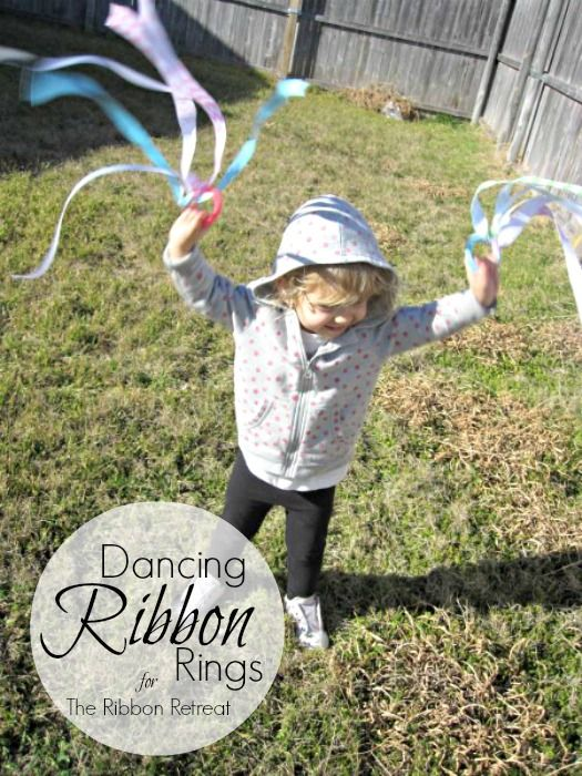 These homemade dancing ribbon rings are great for promoting imaginative play, movement, and altogether silliness! (via Covered in Mod Podge)