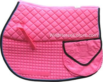 Colorful English Trail Pad with Waterproof Pockets