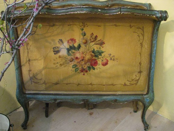 Antique Hand Painted Bed Color Furniture 1 Pinterest