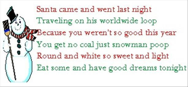 Snowman Soup Recipe and Poem The easiest way to make Snowman Soup is ...