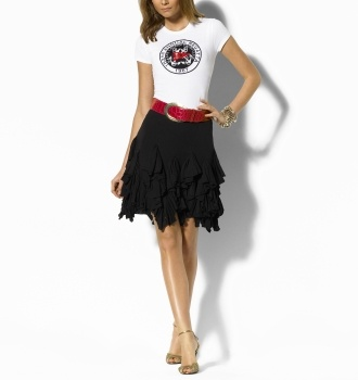 Resort: Isabelle Skirt : arrivals polo ralph lauren shoes women