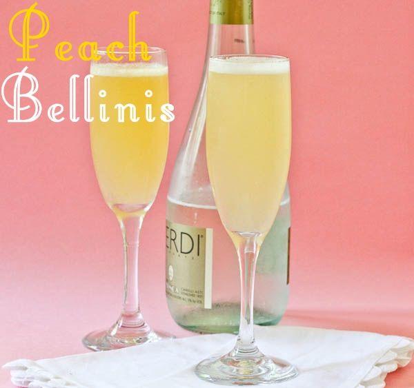 Peach Bellinis | Berry Picking | Pinterest