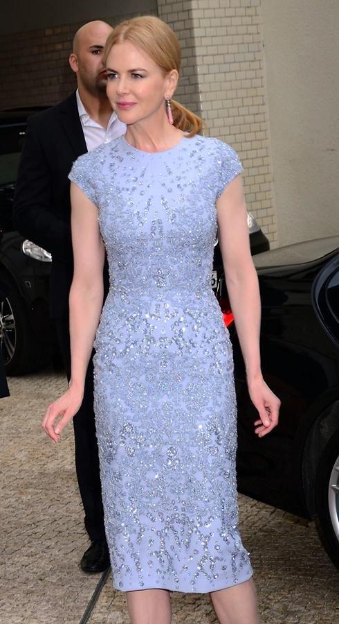 Nicole Kidman S Sparkly Elie Saab Dress Celebrity Mini