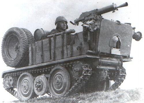 ADMK Mulus machine gun carrier