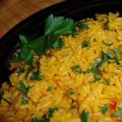 Saffron Rice | food - sides | Pinterest
