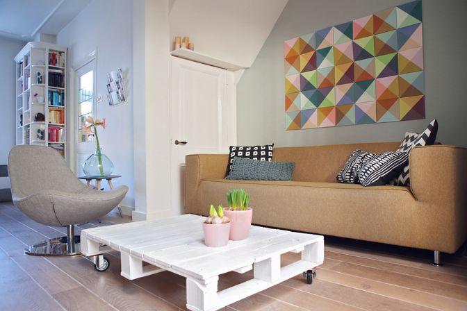kleurig interieur  >> interior  Pinterest