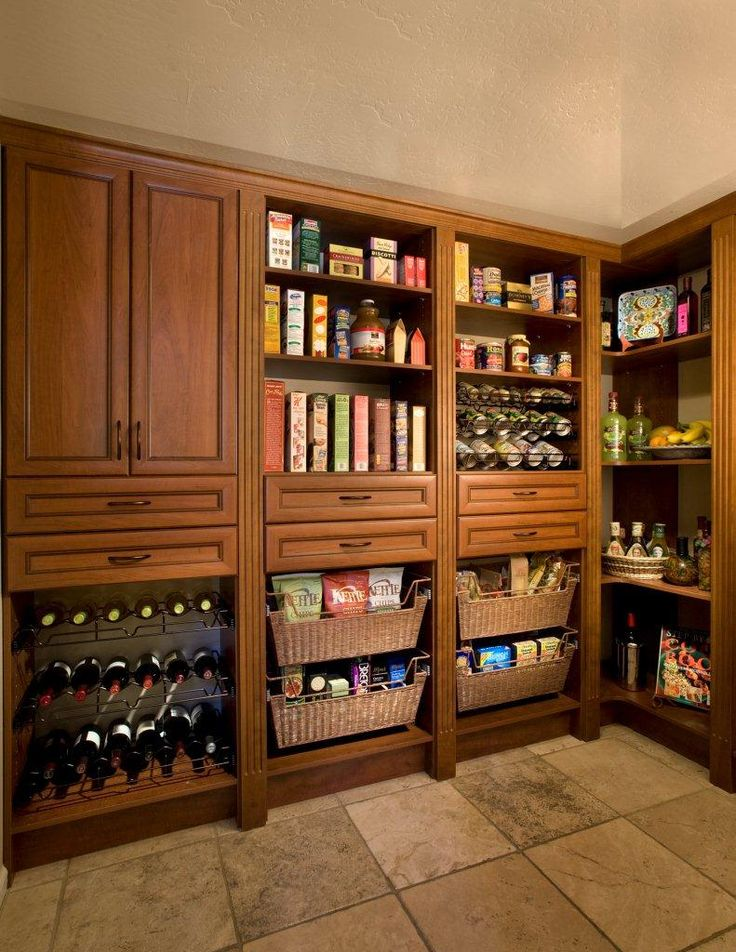 Pantry cabinets organizing a kitchen dining remodel for Corner kitchen cabinet organization ideas