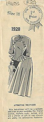 Vintagesewingpatterns.com - Vintage Sewing Patterns
