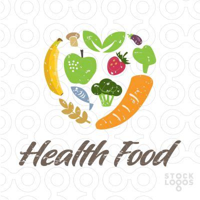 HEALTHY FOOD LOGO DESIGN on Behance