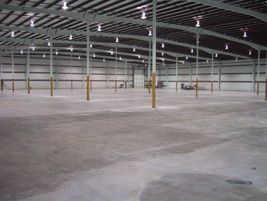 Empty Warehouse | The Clearing In The Trees / Camp Metal Pine | Pinte ...