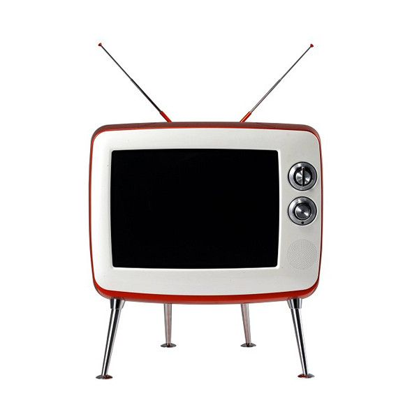 Retro Classic TV | Design Milk ❤ liked on Polyvore