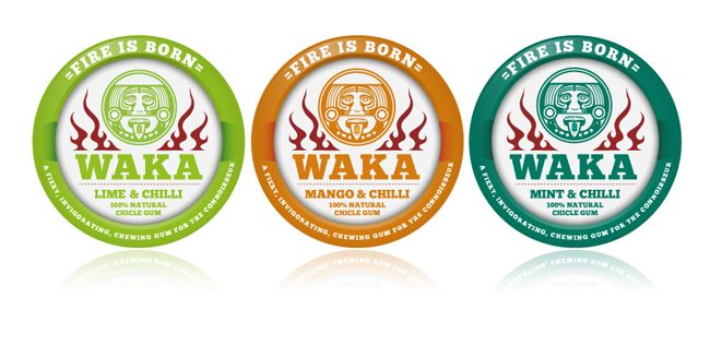 WAKA Gum (Student Work) | Packaging of the World: Creative Package Design Archive and Gallery