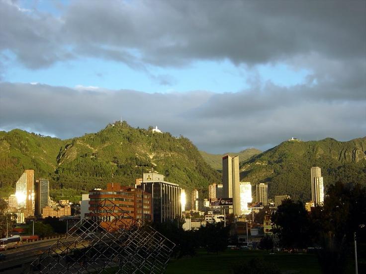 Vista de Bogotá desde oriente