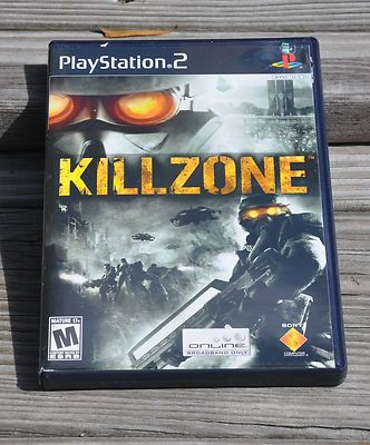Killzone PlayStation 2 PS2 2004 Complete with Manual Tested Works