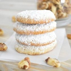 Walnut Snowball Cookies | Yummy recipes | Pinterest
