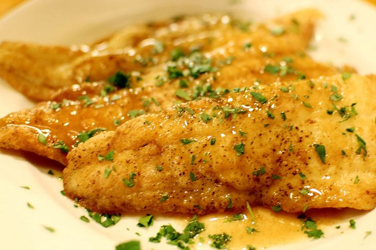 Flounder Piccata Recipe — Dishmaps