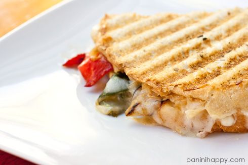 Rajas Grilled Cheese Panini + Tillamook Cheese.
