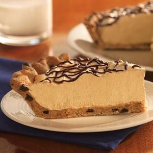 Incredibly good Chocolate Chip Peanut Butter Pie ... holiday special