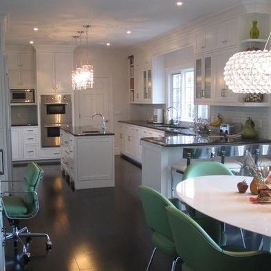 kitchen peninsula and island if i had a clean slate
